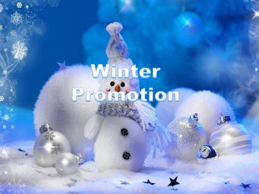 Dry Cleaning Winter promotion
