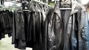 dry clean leather jacket
