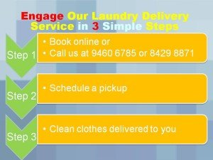 Hassel Free Laundry Services in 3 Steps Singapore